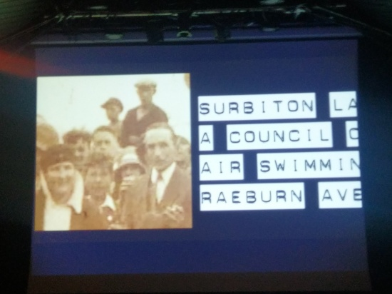 Video Installation including oral histories