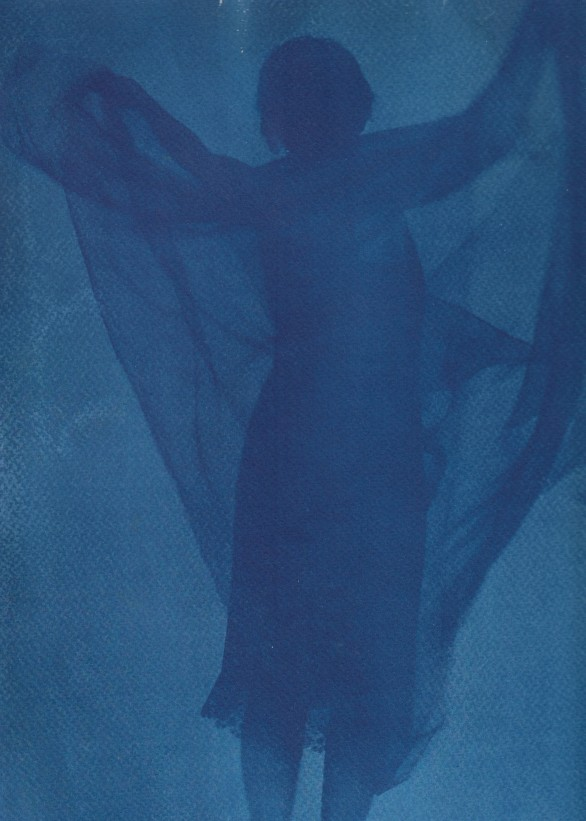 Cyanotype Close Up: The Other Woman: 187