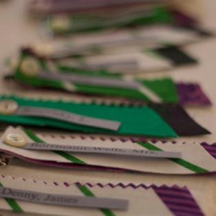 GBM - Suffragette Badge Making
