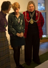 Cllr Julie Pickering: Mayor of Kingston + Jane Glennie