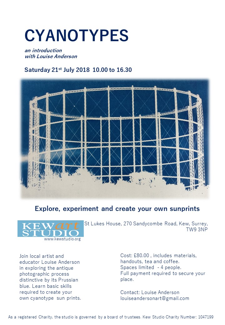 Cyanotype Poster July 2018