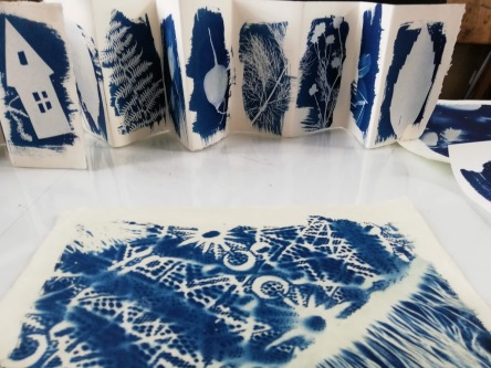 Cyanotype Workshop 21 July 2018