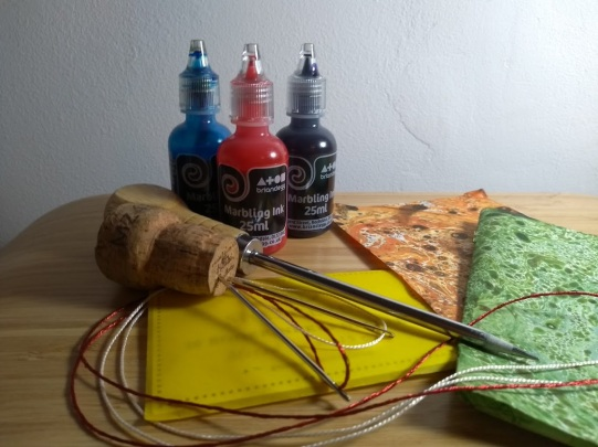 Marblng & Simple Book Making