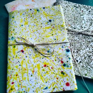 Marbling & Simple Book Making