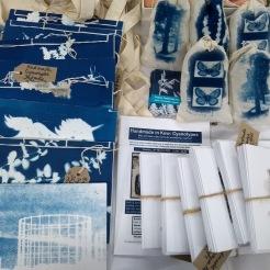 Landmark Arts Centre - Cyanotype - Books - Cards - Lavender Bags