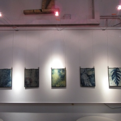 CornerHOUSE Gallery - Cyanotype prints solo show (2020)