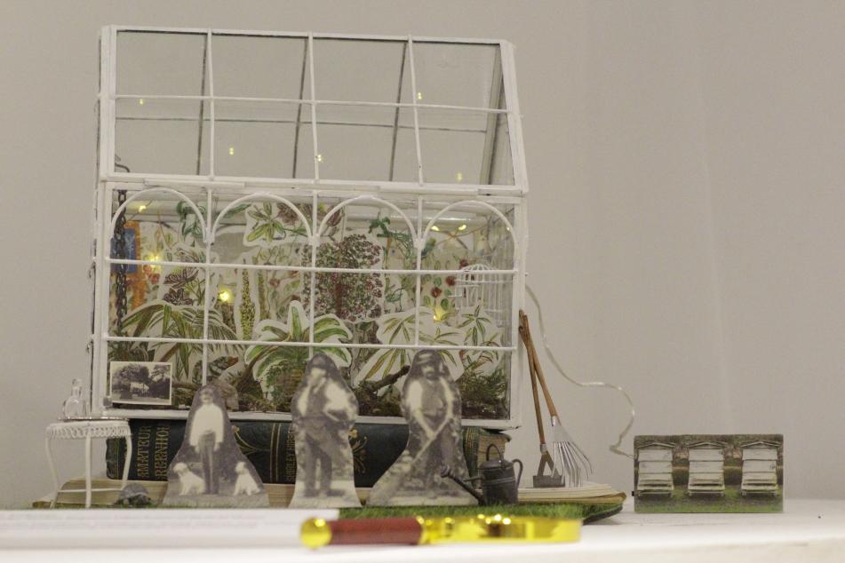 View through the glasshouse 2020