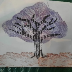 Printmaking without a press Landmark Arts Centre, Teddington, Summer School 2020
