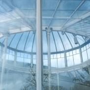 Chiswick Glasshouse – Through the round window Photography